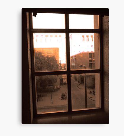 Window Dust Canvas Print