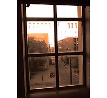 Window Dust Photographic Print