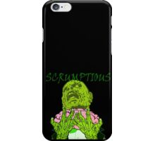 Zombie eating a brain iPhone Case/Skin