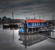 The Houseboat by Ursula Rodgers