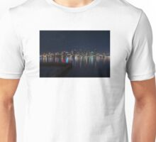 San Diego Skyline at Night Unisex T-Shirt
