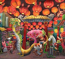 Chinatown Animals by colonelle