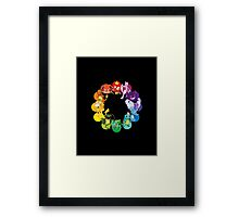PokeWheel Framed Print