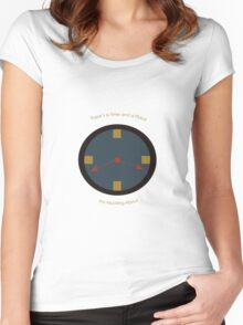 Time and Place Women's Fitted Scoop T-Shirt