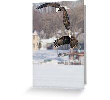 Eagle Speak Greeting Card