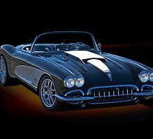 1958 Corvette 'Retro' Roadster II by DaveKoontz