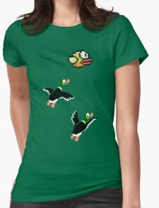 Flappy Hunt Womens Fitted T-Shirt