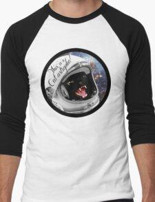 Cat-astrophe! Men's Baseball ¾ T-Shirt