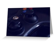 Xbox Controller Greeting Card
