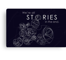 The Story of Gallifrey Canvas Print