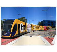 New Gold Coast Tram Poster