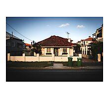 Suburban House 2 Photographic Print