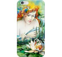 Angel and Lily iPhone Case/Skin