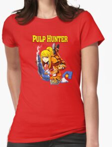 Pulp Hunter Womens Fitted T-Shirt