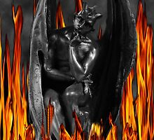 LUCIFER FALLEN ANGEL IN FLAMES (DEVIL) by ╰⊰✿ℒᵒᶹᵉ Bonita✿⊱╮ Lalonde✿⊱╮