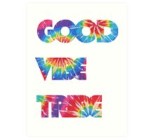 Good Vibe Tribe Art Print