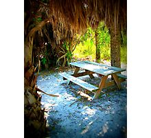 Secluded Picnic Photographic Print