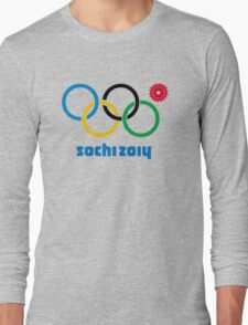 Sochi Rings Long Sleeve T-Shirt
