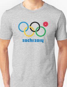 Sochi Rings Unisex T-Shirt
