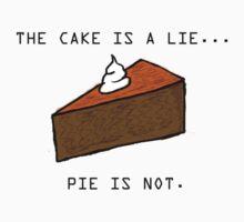 Pie Lie by Redpandazzz
