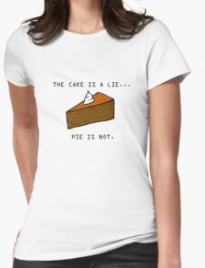 Pie Lie Womens Fitted T-Shirt