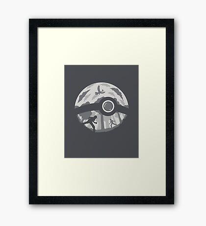 Pocket Battle Framed Print