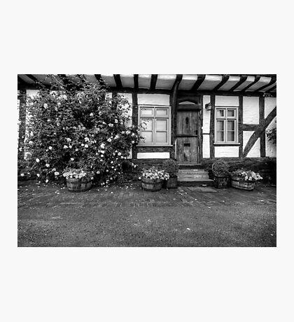 Tewksbury Cottage Photographic Print