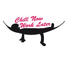 Chill now work later hammock sleeping spell by Style-O-Mat