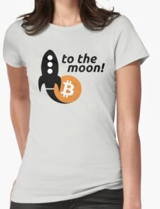 Bitcoin to the moon! T-Shirt