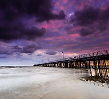 The Shorncliffe Pier Qld Australia by Beth  Wode