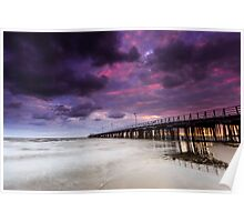 The Shorncliffe Pier Qld Australia Poster