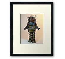 Billiken Shokai Tin Wind Up Robby the Robot Framed Print