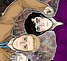 Johnlock by zombiebuttz