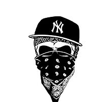 Gangsta Skull NY by clubbers06