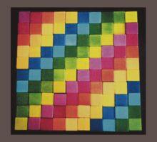 Rainbow Blocks Baby Tee