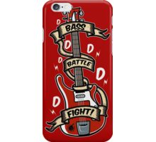 Bass Battle Fight! iPhone Case/Skin