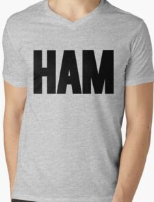 HAM Shirt Mens V-Neck T-Shirt