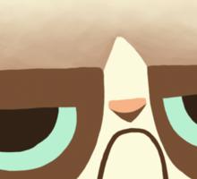 Grumpy Kitten Sticker