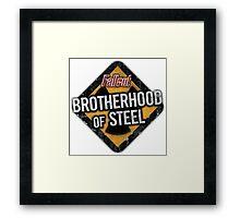 Fallout 4 - Brotherhood of Steel Framed Print