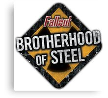 Fallout 4 - Brotherhood of Steel Canvas Print