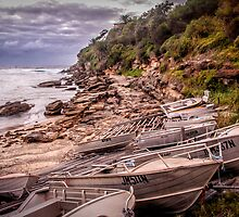 Gordon Bay boats by Chris Brunton