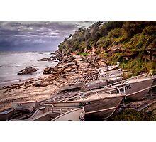 Gordon Bay boats Photographic Print
