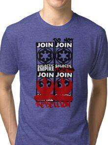 GALACTIC EMPIRE - wrong propaganda Tri-blend T-Shirt