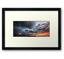 Heavy Light Framed Print