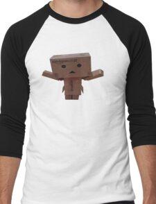 Danbo cardboard guy Men's Baseball ¾ T-Shirt