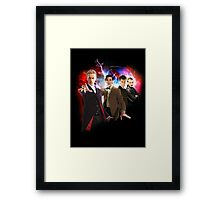 9 Years and Counting... Framed Print