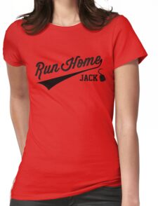 Run Home Jack! Womens Fitted T-Shirt