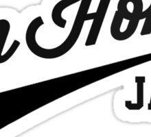 Run Home Jack! Sticker