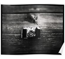 Kodak Retina 1a captured on 4x5  Poster