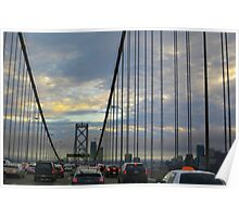 West Span of the Bay Bridge Poster